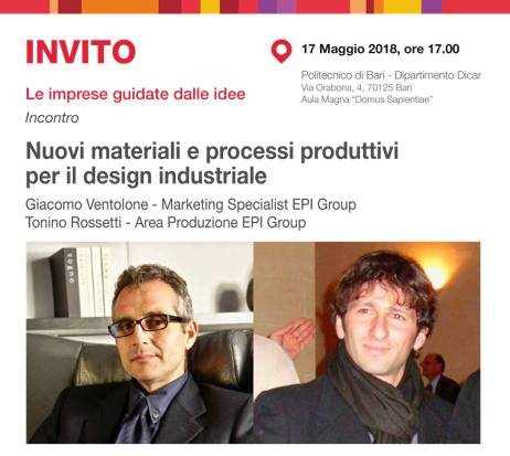 NEW MATERIALS AND PRODUCTION PROCESSES FOR INDUSTRIAL DESIGN