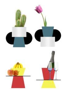 Fibra di carbonio e ceramica - oggetti da tavolo - Epi