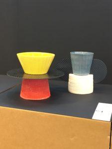 Fibra di carbonio e ceramica - Totem per la tavola - Epi