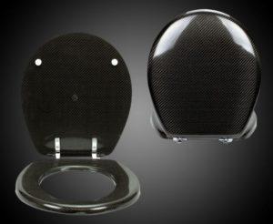 Attedo e design in fibra di carbonio - water - Epi