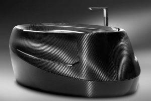 Attedo e design in fibra di carbonio - vasca da bagnor - Epi